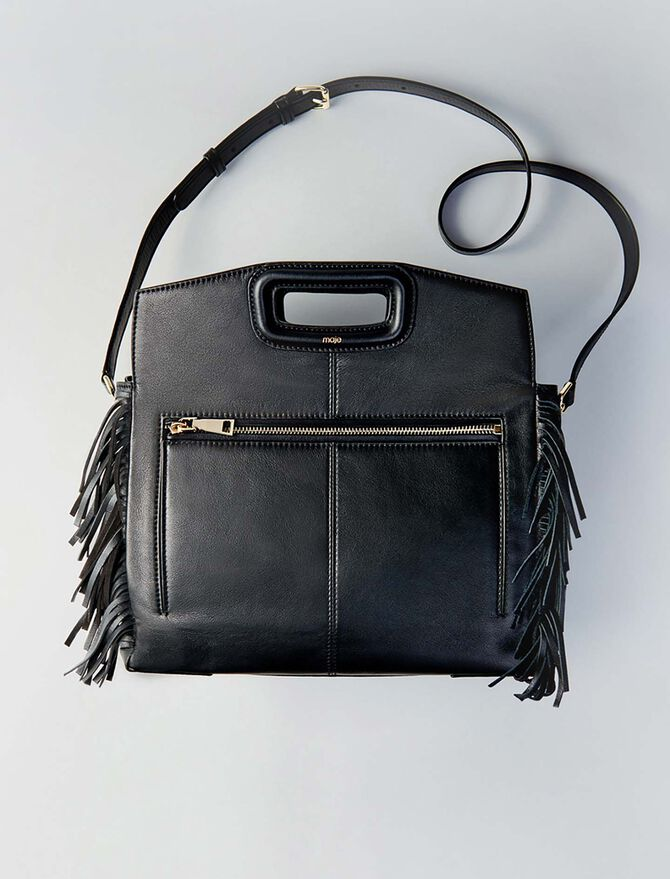 Leather M Walk bag - Other M - MAJE
