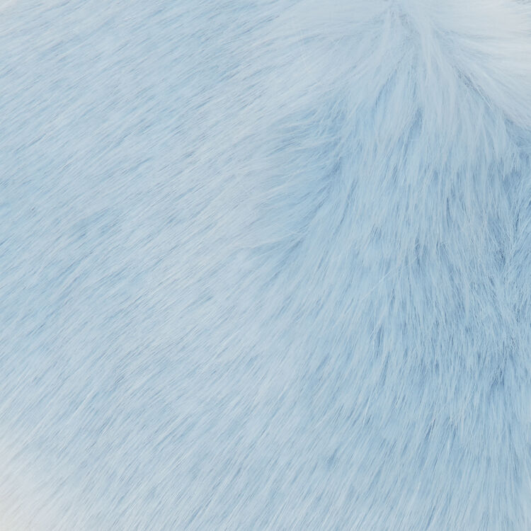 Wide faux fur collar scarf : Other Accessories color Multico