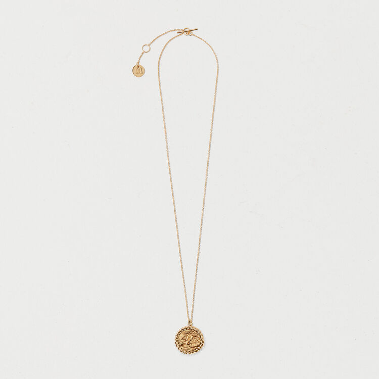 Number 8 medallion : Shoes & Accessories color GOLD