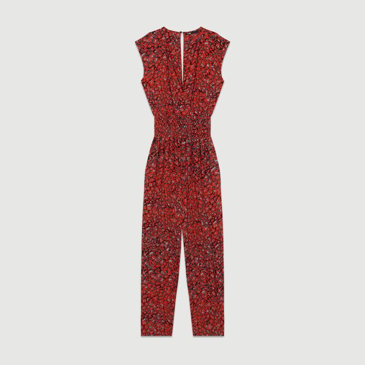 Sleeveless jumpsuit : Jumpsuits color PRINTED