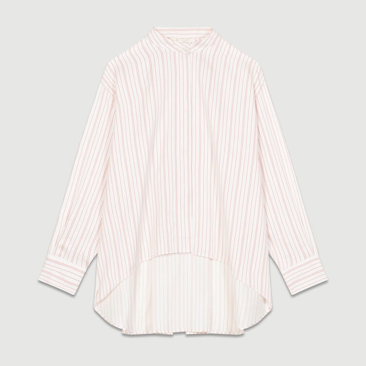 Oversized striped shirt : Tops & Shirts color Stripe