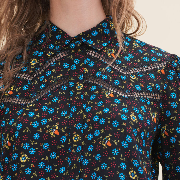 Floral-print blouse : Tops & T-Shirts color PRINTED