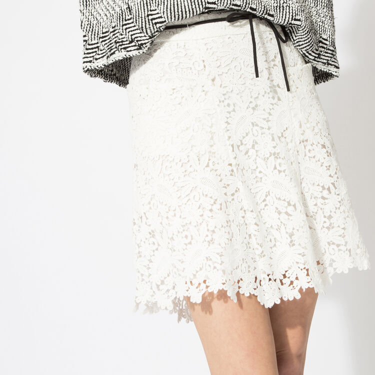 Lace A-line skirt : The Zoe Report color