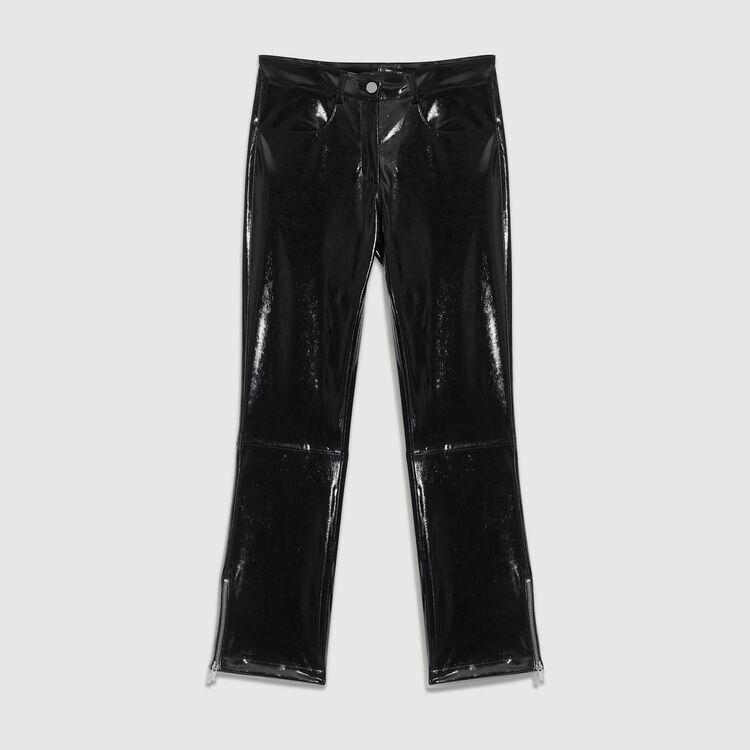 Cigarette Skai pants : Pants & Jeans color Black 210