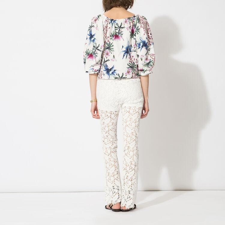Lace trousers : Copy of Sale color