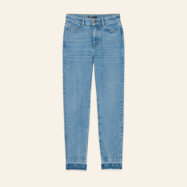 Straight jean : Pants & Jeans color Blue