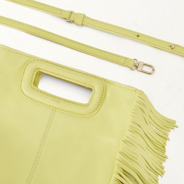 Lambskin M bag : M Bags color Yellow