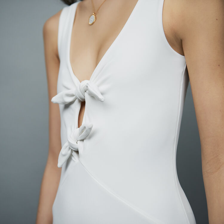 Body with knots : Tops & T-Shirts color WHITE
