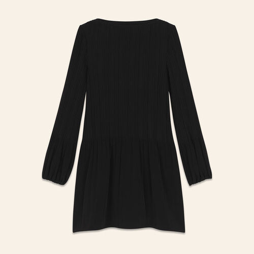 Pleated dress : Dresses color Black 210