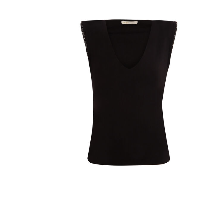 Crepe top : Night looks color