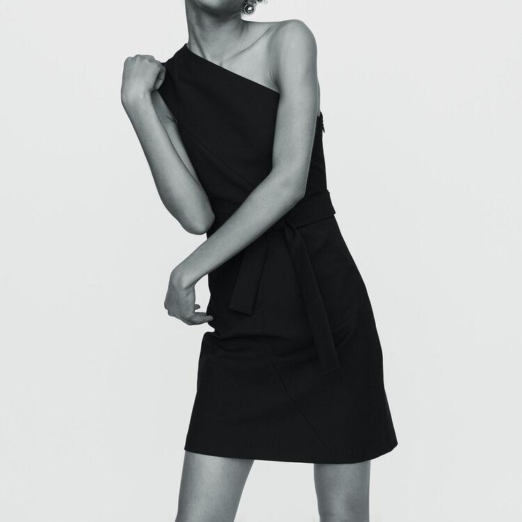 Dresses true Off-the-shoulder short dress   Dresses color Black 210 d3669ed97