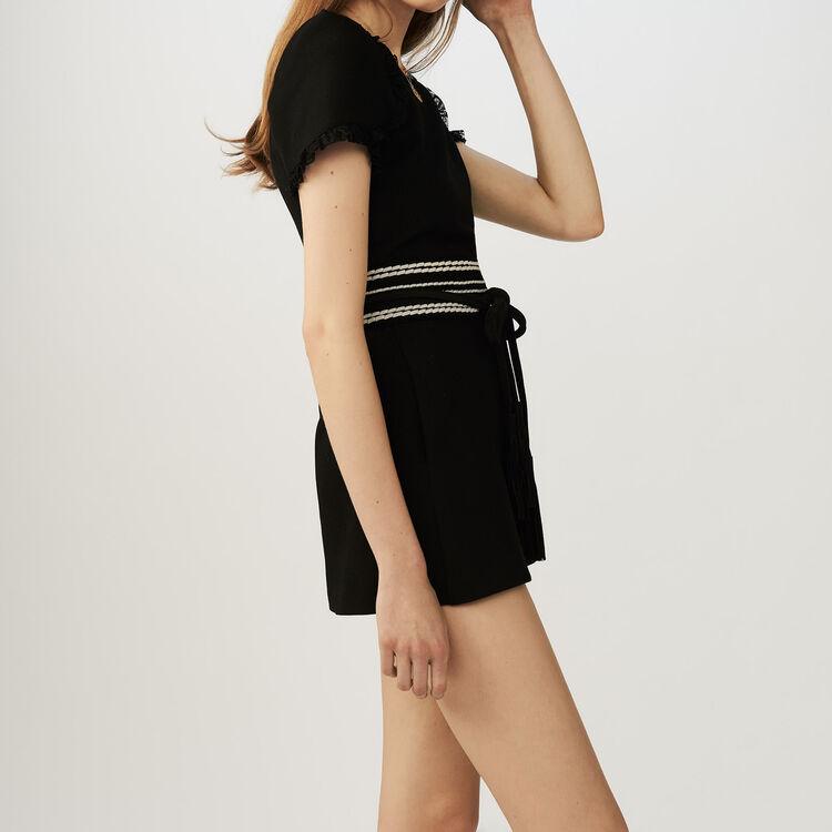 Jersey romper : Jumpsuits color Black 210