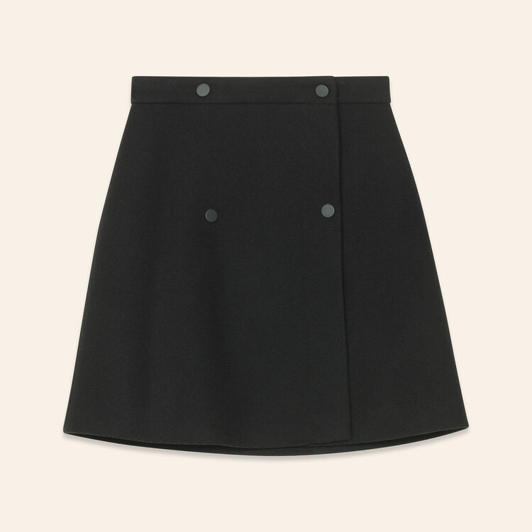 Wraparound skirt : null color