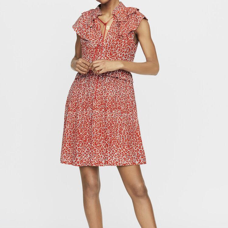 Dresses true Sleeveless leopard print dress   Dresses color PRINTED 768dc6225