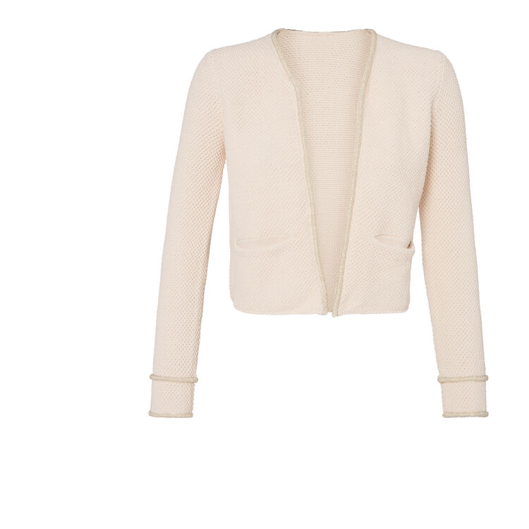 Cotton and linen cardigan : Copy of Sale color