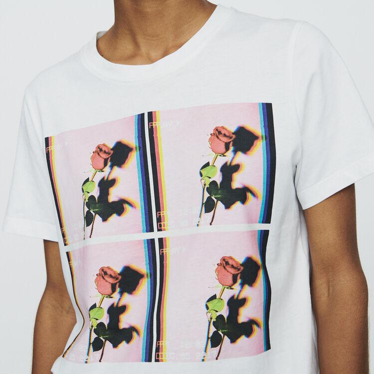 4632d4959e1de ... Printed T-shirt   Tops   T-Shirts color WHITE