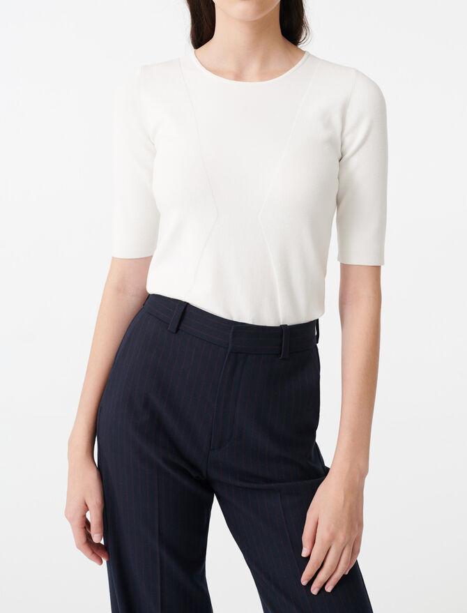 Short sleeve sweater -  - MAJE