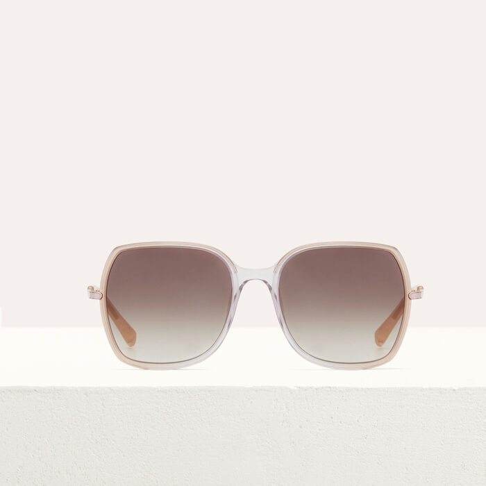 Sunglasses in acetate and metal : The Essentials color Pink