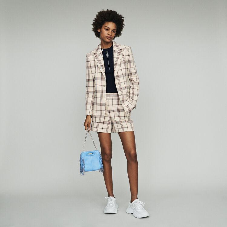 Tailor's jacket with checks : Coats & Jackets color CARREAUX