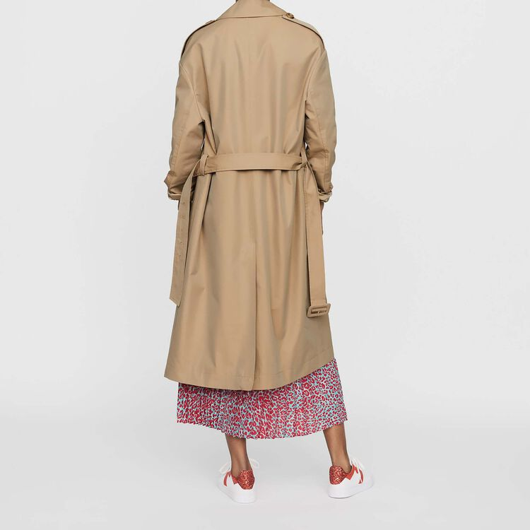 Toile classic trench : Coats & Jackets color Beige