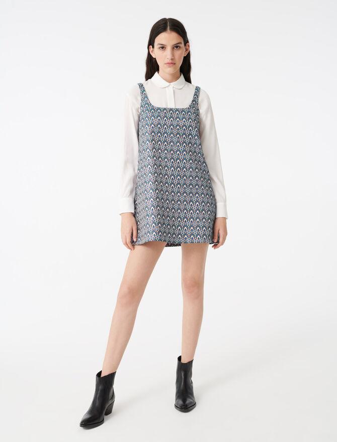 Short jacquard dress - Dresses - MAJE