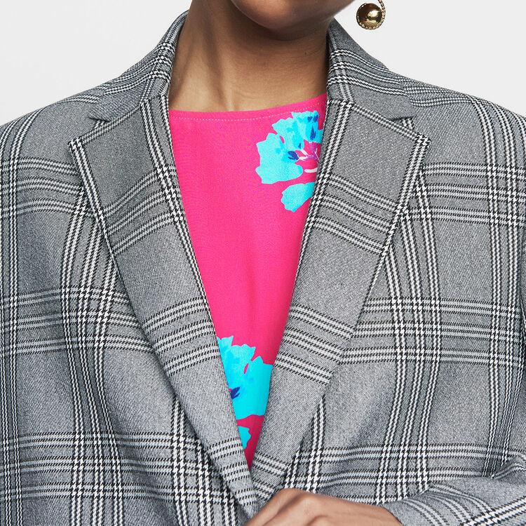 Suit jacket : Coats & Jackets color CARREAUX