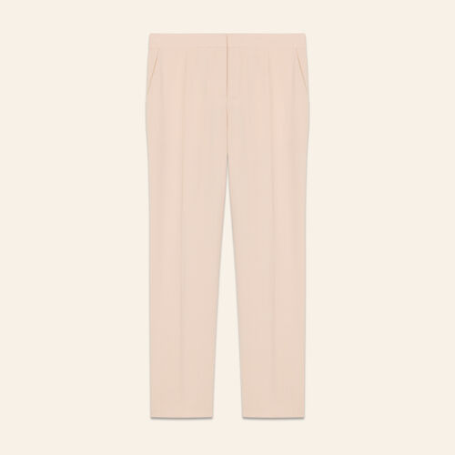 Straight suit pants : Pants & Jeans color Pink