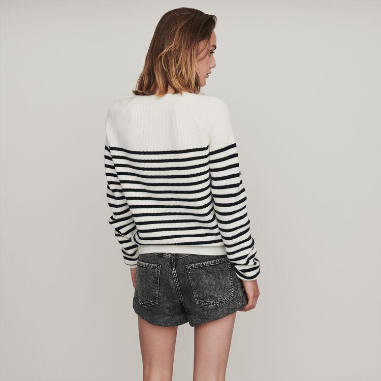 Sailor sweater : Sweaters color Ecru