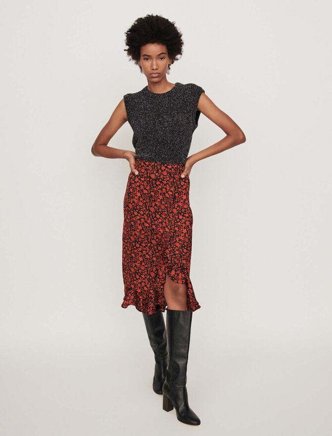 Printed skirt - Skirts & Shorts - MAJE