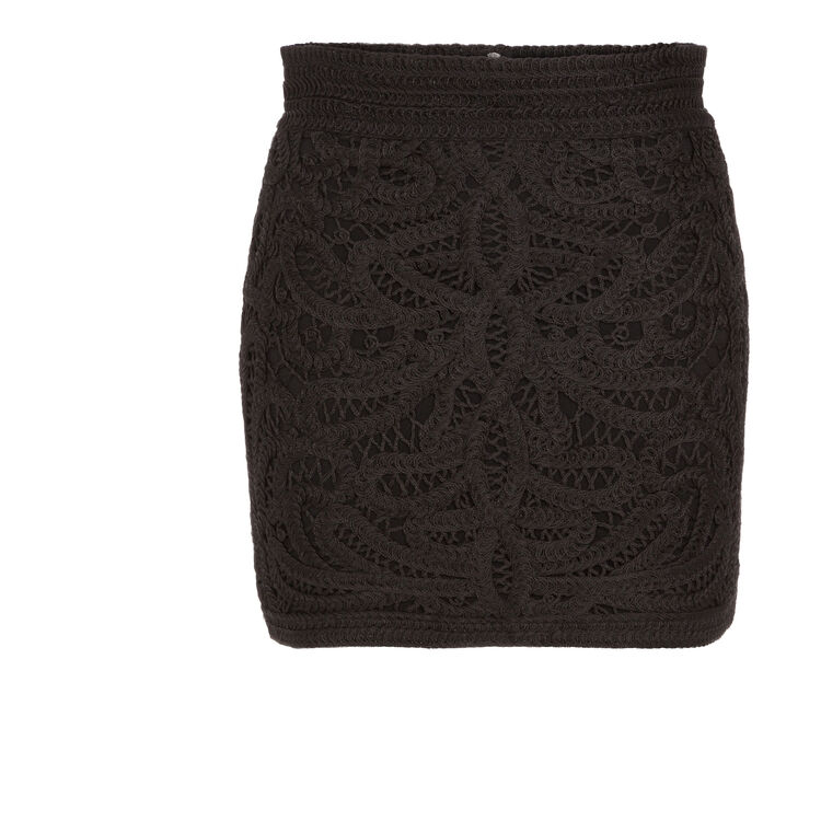 Short embroidered skirt : Copy of Sale color