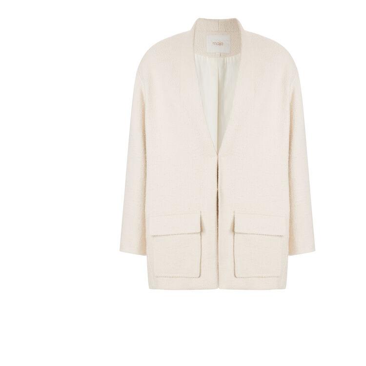 Short cotton coat : null color