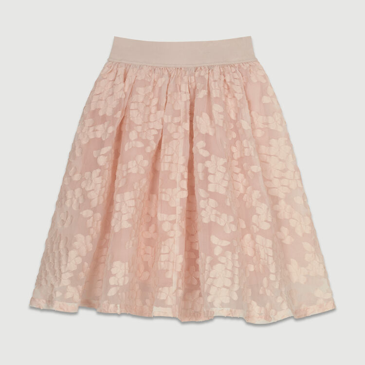 Basket-weave slip : Skirts & Shorts color Pink