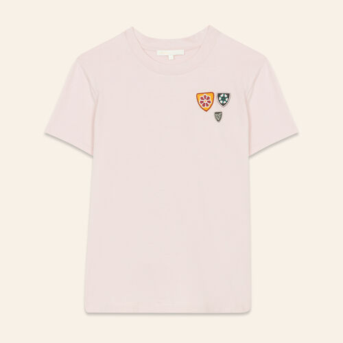 Basic cotton T-shirt : Tops & T-Shirts color Pink