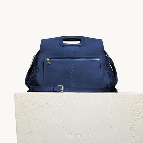 Suede M Walk bag - M Walk - MAJE