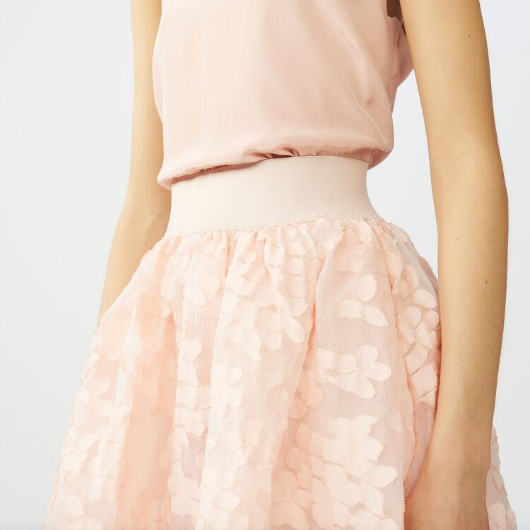 Basket-weave slip : Skirts & Shorts color Pink