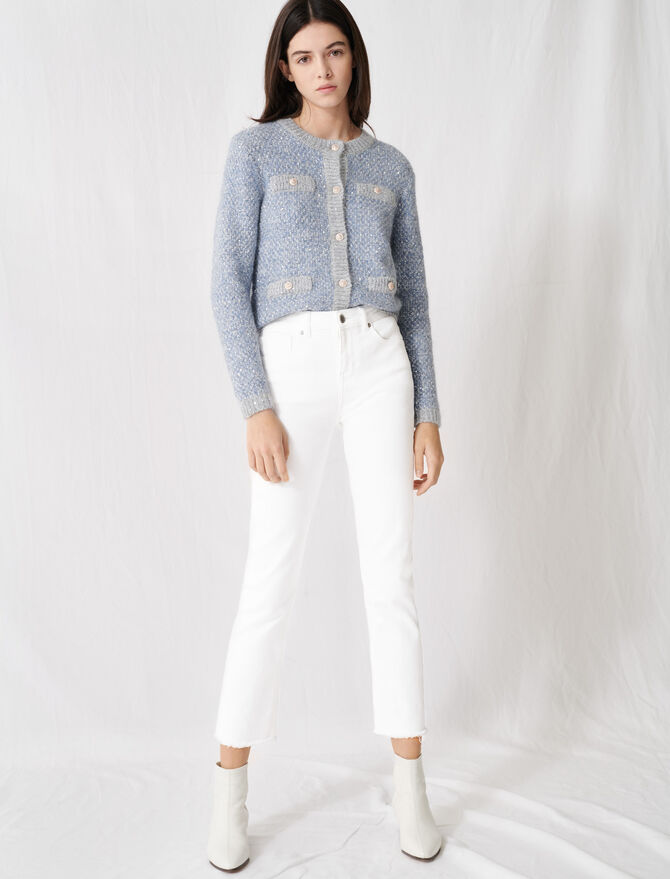 Wide Straight-cut Jeans - Pants & Jeans - MAJE