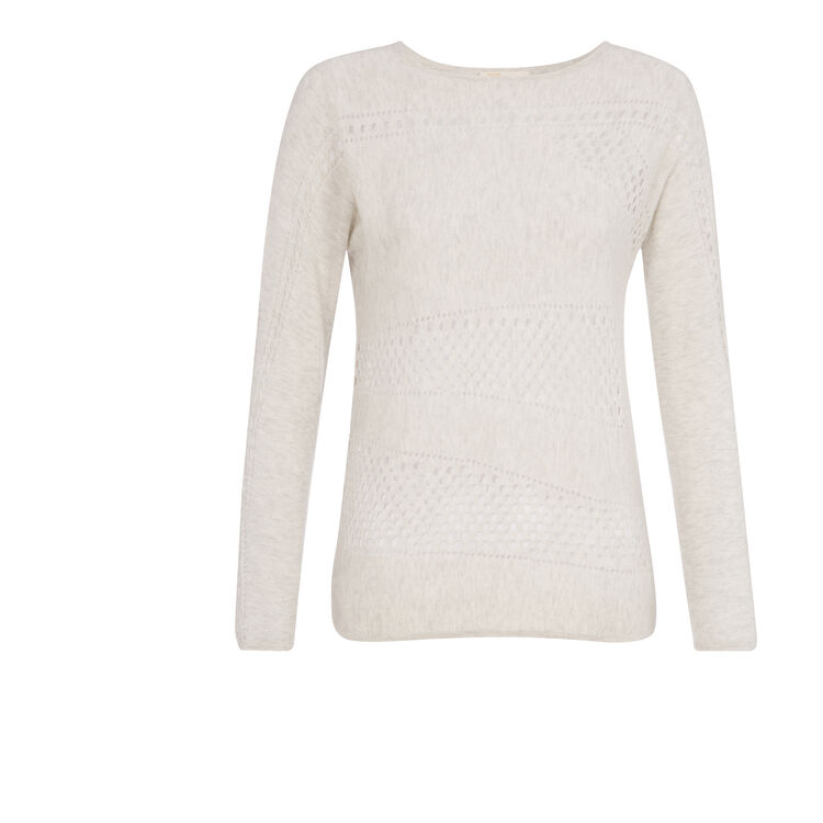 Merino wool and cashmere sweater : Copy of Sale color