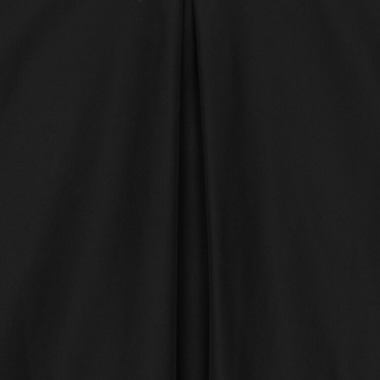 Taffeta top with shoulder detailing : Tops & Shirts color Black 210