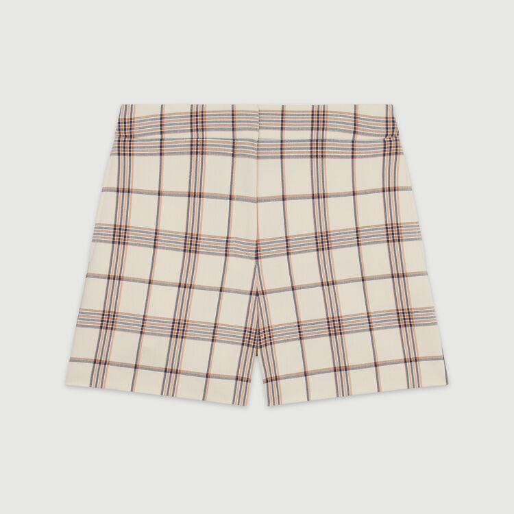 Plaid shorts : Skirts & Shorts color CARREAUX
