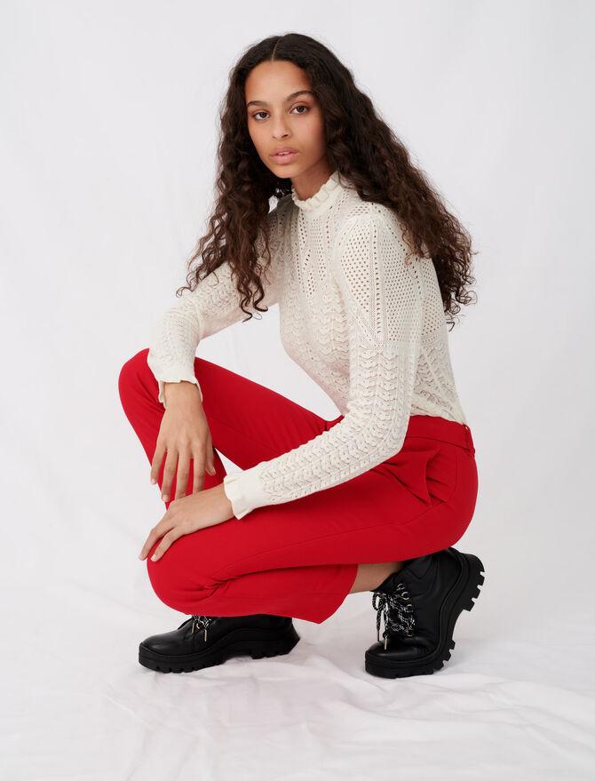 Straight-leg pants - Pants & Jeans - MAJE