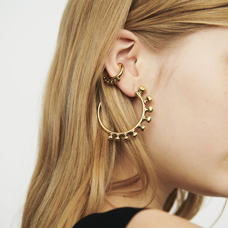 """""""Arty"""" earcuff : Jewelry color GOLD"""