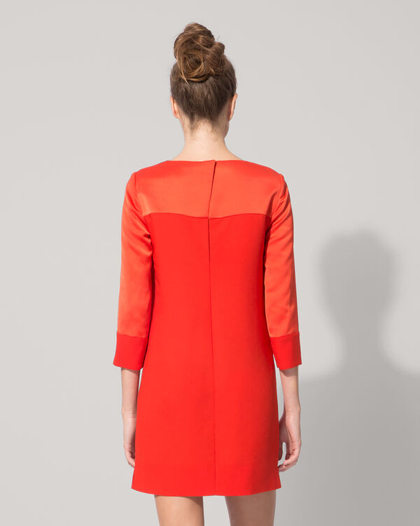 Tunic-style crepe dress : Spring Summer Precollection color
