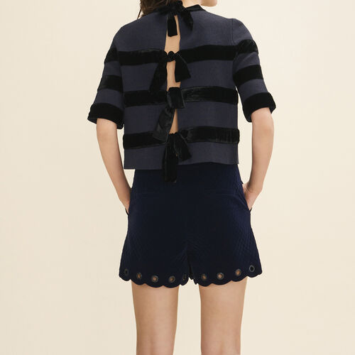 Locknit jumper : Sweaters color Navy