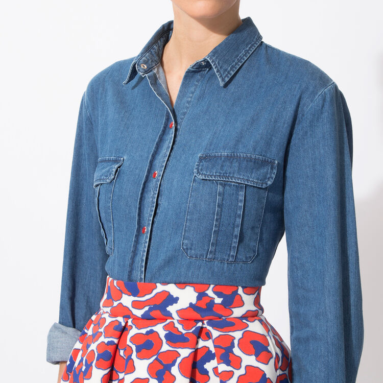 Denim shirt : Spring Summer Precollection color