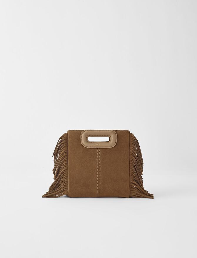 Mini M bag with chain -  - MAJE