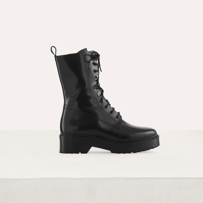 bc27a1a15ca1dc FRANKTOP Ranger style boots - Shoes   Accessories - Maje.com