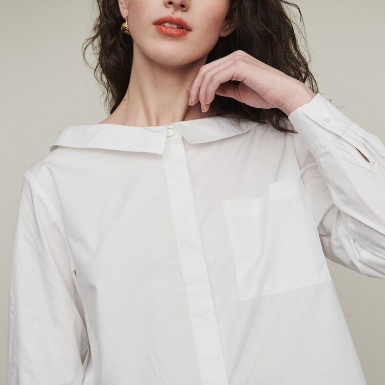 Top with bare shoulders : Tops & T-Shirts color Ecru