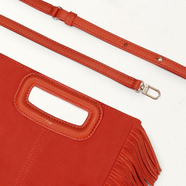 Suede M bag : Shoes & Accessories color Orange