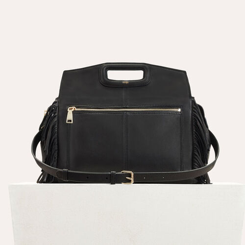 Leather shoulder bag  : All bags color Black 210