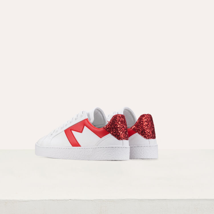 Sneakers with contrasting details : Shoes & Accessories color White